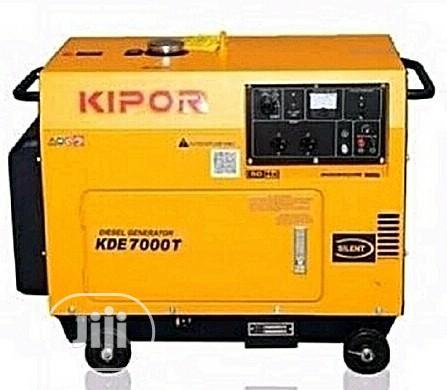 BRAND NEW Kipor 5.0KVA Diesel Generator - KDE7000T