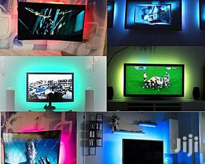 Multi Color LED Strip Light TV Backlight Remote Contral   Home Accessories for sale in Lagos State, Agege