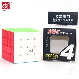 Qiyi Rubik Cube Professional 4x4x4 Stickerles Cube + Manual   Toys for sale in Lagos State, Ikeja