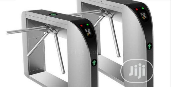 Card Reader Automated Turnstiles Tripod Barrier BY HIPHEN