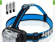 LED Headlamp Flashlight With Red Lights For Running BY HIPHEN | Sports Equipment for sale in Oyo State, Ibadan