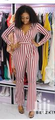 Jumsuit Red And White Stripes   Clothing for sale in Ikeja, Lagos State, Nigeria