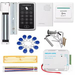 Door Access Control Keypard Magnetic Lock DC 12V Power Supply Kit | Doors for sale in Lagos State, Ikeja