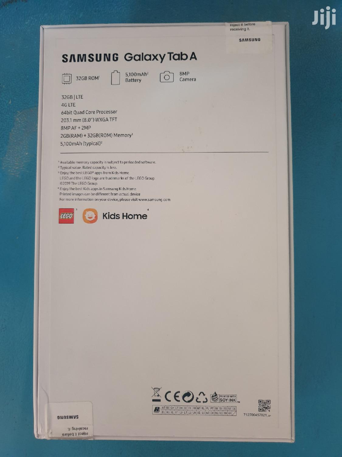 New Samsung Galaxy Tab a GB Black | Tablets for sale in Ikeja, Lagos State, Nigeria