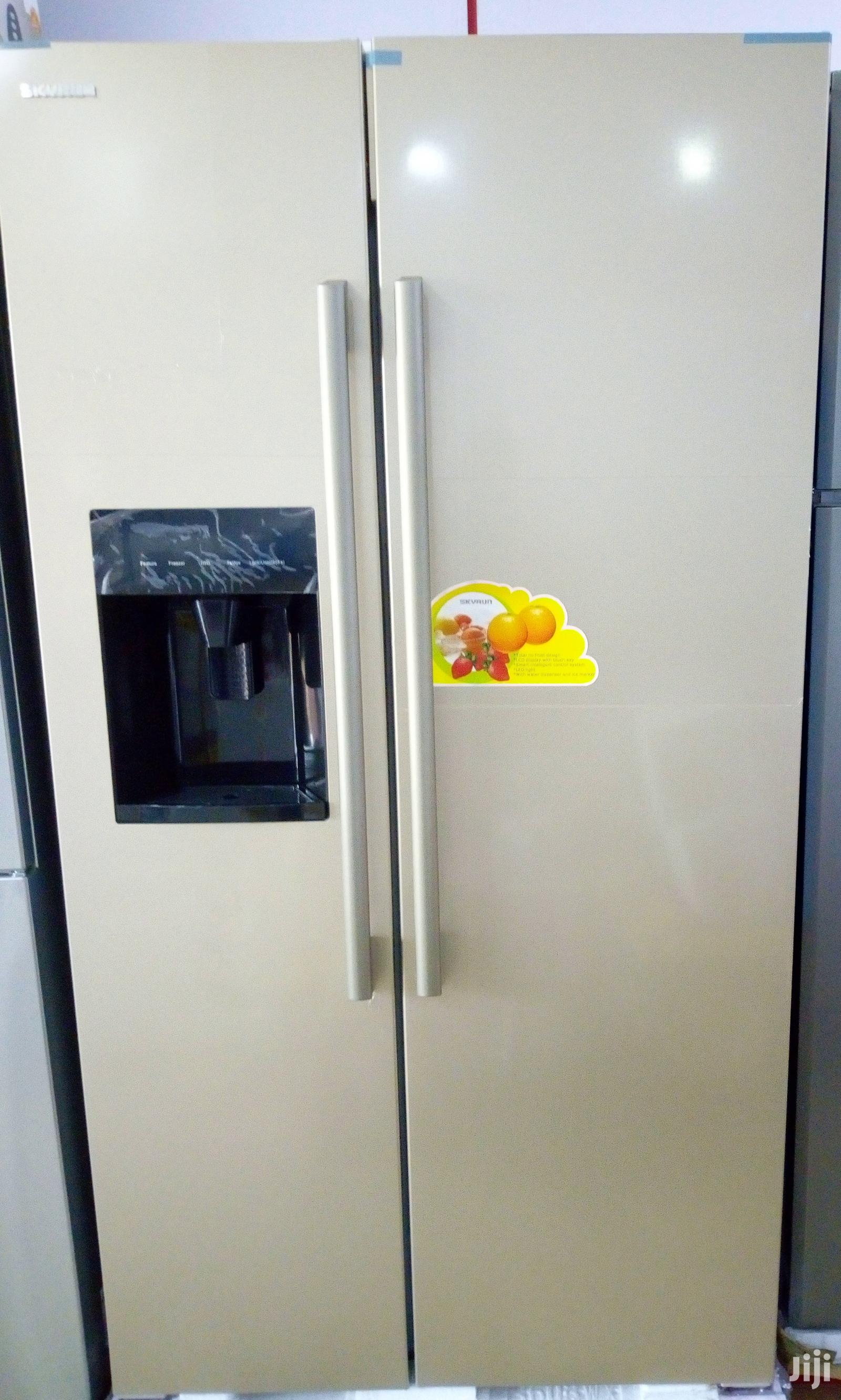 Archive: Skyrun Side By Side Refrigerator With Ice Maker And Dispenser