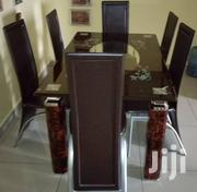 Quality Strong Tinted Glass Dining Table | Furniture for sale in Abia State, Umuahia