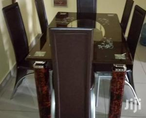 Quality Strong Tinted Glass Dining Table | Furniture for sale in Cross River State, Calabar