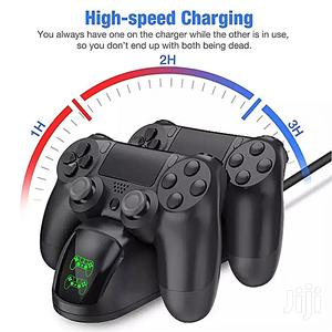 Charger Play Station 4 Dual New Fast Charging Station Stand BDZ | Accessories & Supplies for Electronics for sale in Lagos State, Ikeja