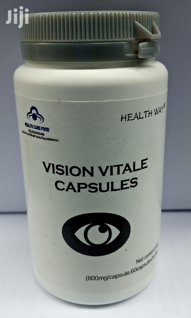Cure the Cataracts and Glaucoma Permanently With Vision Vitale
