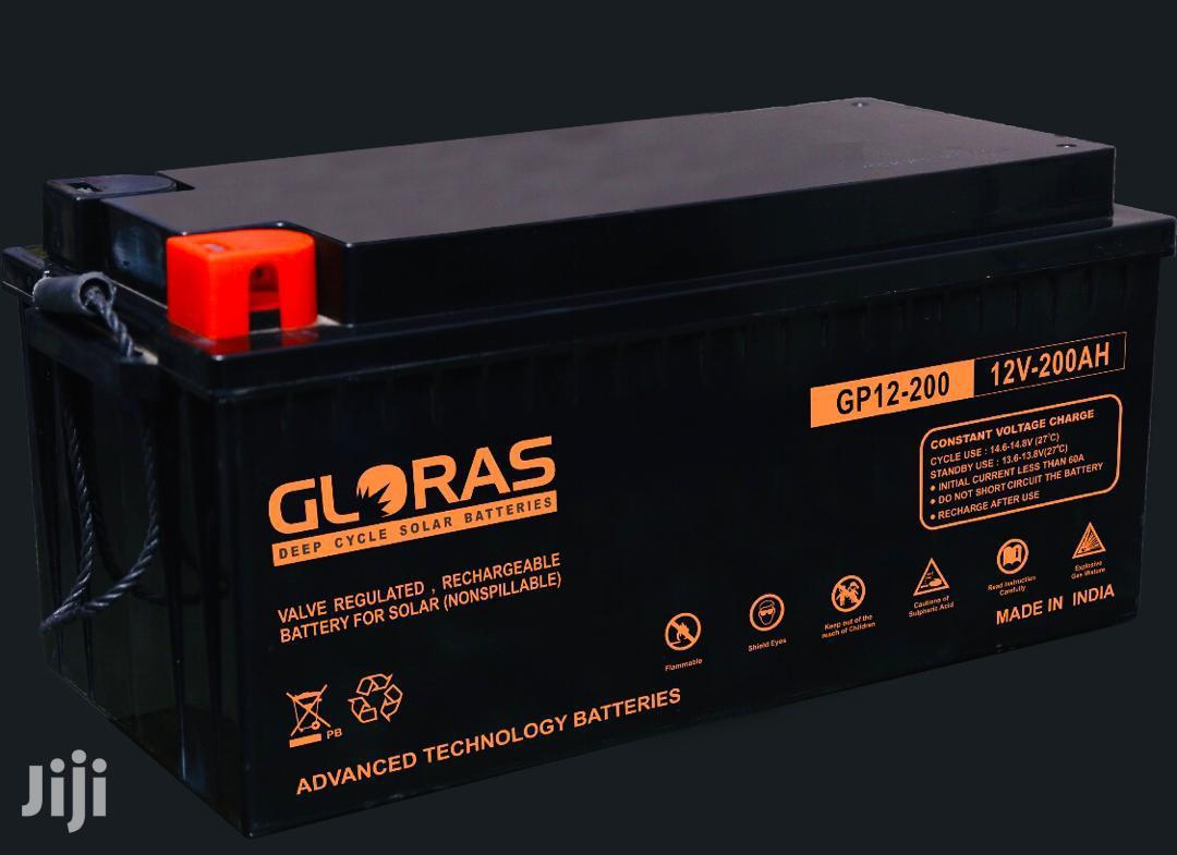 Gloras 200ah Battery