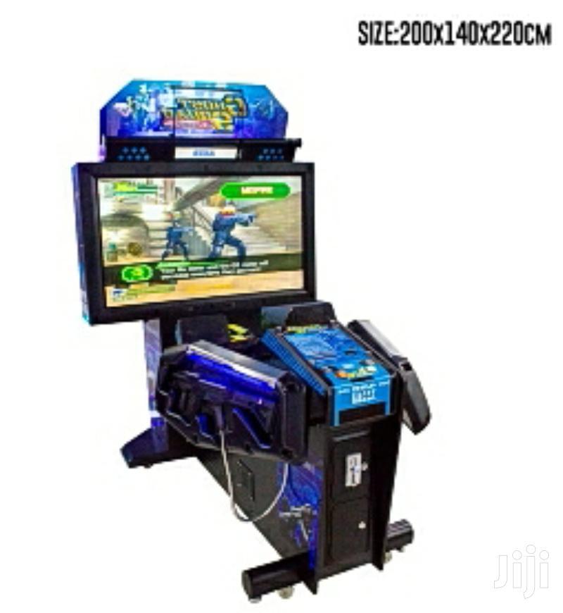 Electronic Indoor Arcade Coin Operated Gun Shooting Arcade Game