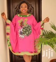 Bubu Dress With Ankara Patches   Clothing for sale in Lagos State, Gbagada
