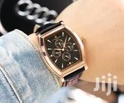 Vacheron Constantin Chronograph Rose Gold Leather Strap Watch   Watches for sale in Lagos State, Lagos Island
