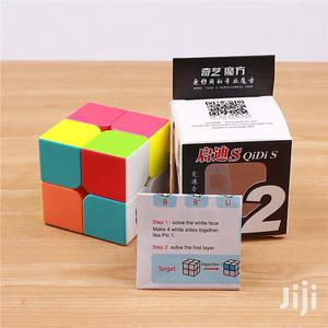 Qiyi Rubik's Cube 2x2x2 Professional Speed Cube + [Manual]   Toys for sale in Lagos State, Ikeja