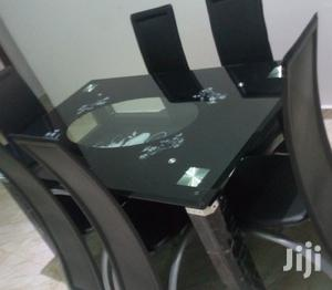 Quality Strong Six Seater Tinted Glass Dining Table | Furniture for sale in Anambra State, Awka