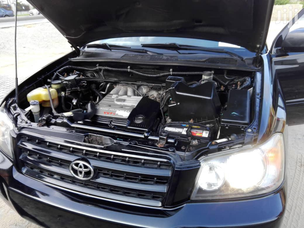 Toyota Highlander 2003 Black | Cars for sale in Port-Harcourt, Rivers State, Nigeria