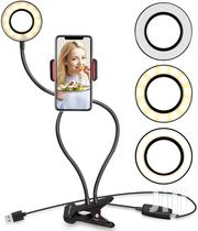 3-in-1 Phone Holder And Selfie Ring Light | Accessories for Mobile Phones & Tablets for sale in Lagos State, Ikoyi