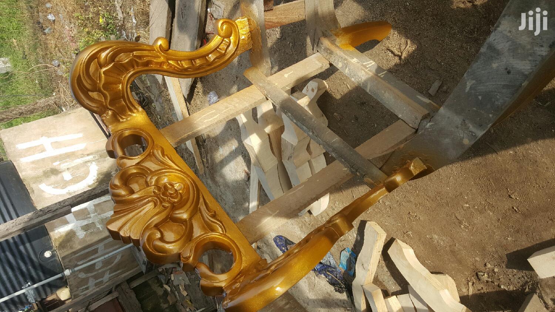 New Executive Turkish Royal Sofa Chair   Furniture for sale in Gwarinpa, Abuja (FCT) State, Nigeria