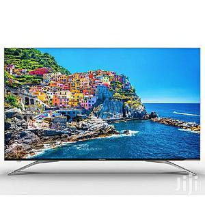 "BRAND HISENSE 75"" 4K UHD Smart LED TV + Free Wall Bracket - 75A6500UW | TV & DVD Equipment for sale in Lagos State, Ojo"