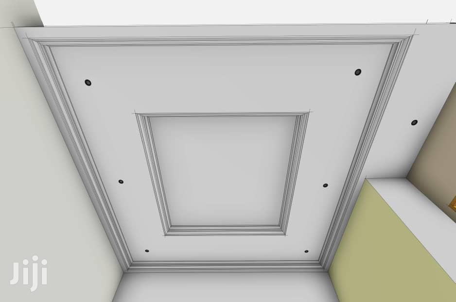 Pop And Profile Aluminum Celling Work