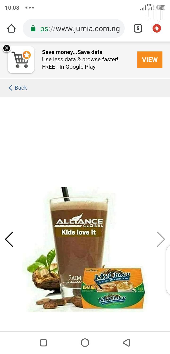 Alliance in Motion Global Mychoco Chocolate Drink | Vitamins & Supplements for sale in Agege, Lagos State, Nigeria
