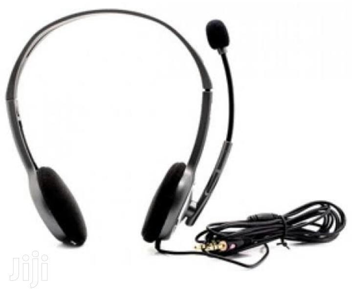 Logitech H110 Stereo Headset | Headphones for sale in Ikeja, Lagos State, Nigeria