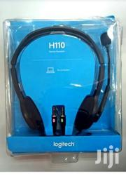 Logitech H110 Stereo Headset | Headphones for sale in Lagos State, Ikeja
