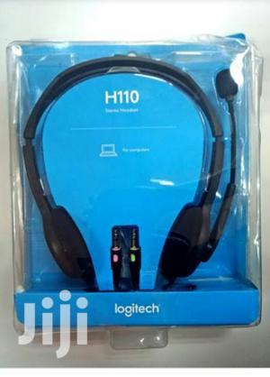 Logitech H110 Stereo Headset | Headphones for sale in Lagos State, Ikeja