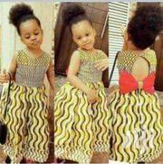 Kiddies Ankara Dress.   Clothing for sale in Lagos State, Lekki Phase 1