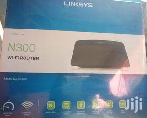 Linksys N300 Wireless Router E1200   Networking Products for sale in Lagos State, Ikeja
