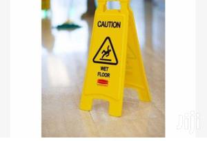 Yellow Caution Safety Wet Floor Sign BY HIPHEN | Safetywear & Equipment for sale in Abia State, Umuahia