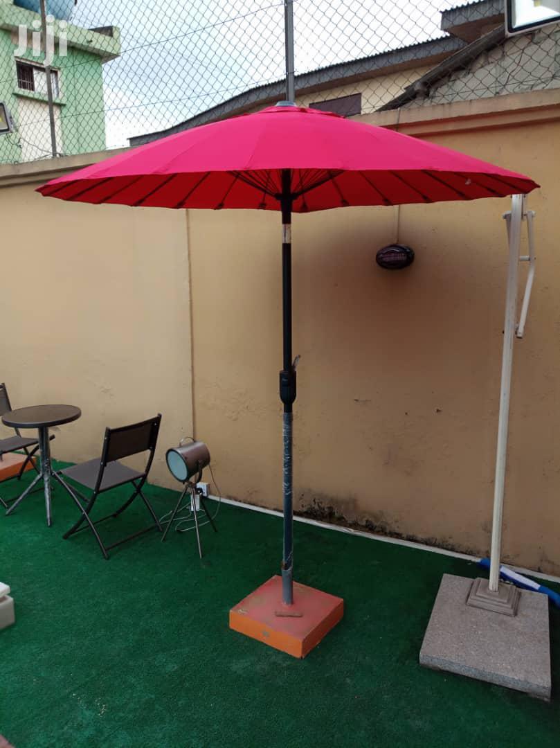 New & Portable Outdoor & Pool Side Umbrella.