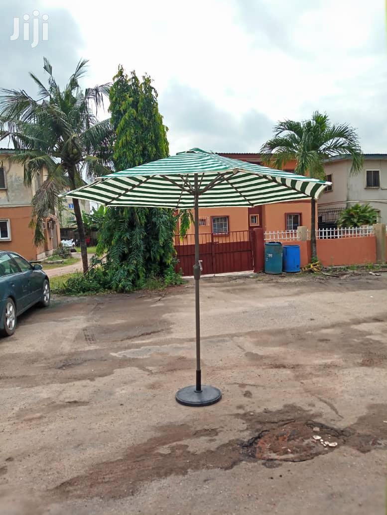 New & Portable Outdoor & Pool Side Umbrella. | Garden for sale in Ikeja, Lagos State, Nigeria
