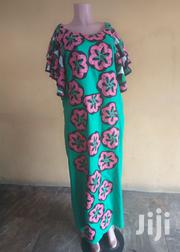 A-Line Dress With Flowered Ankara Patches   Clothing for sale in Lagos State, Lekki Phase 1