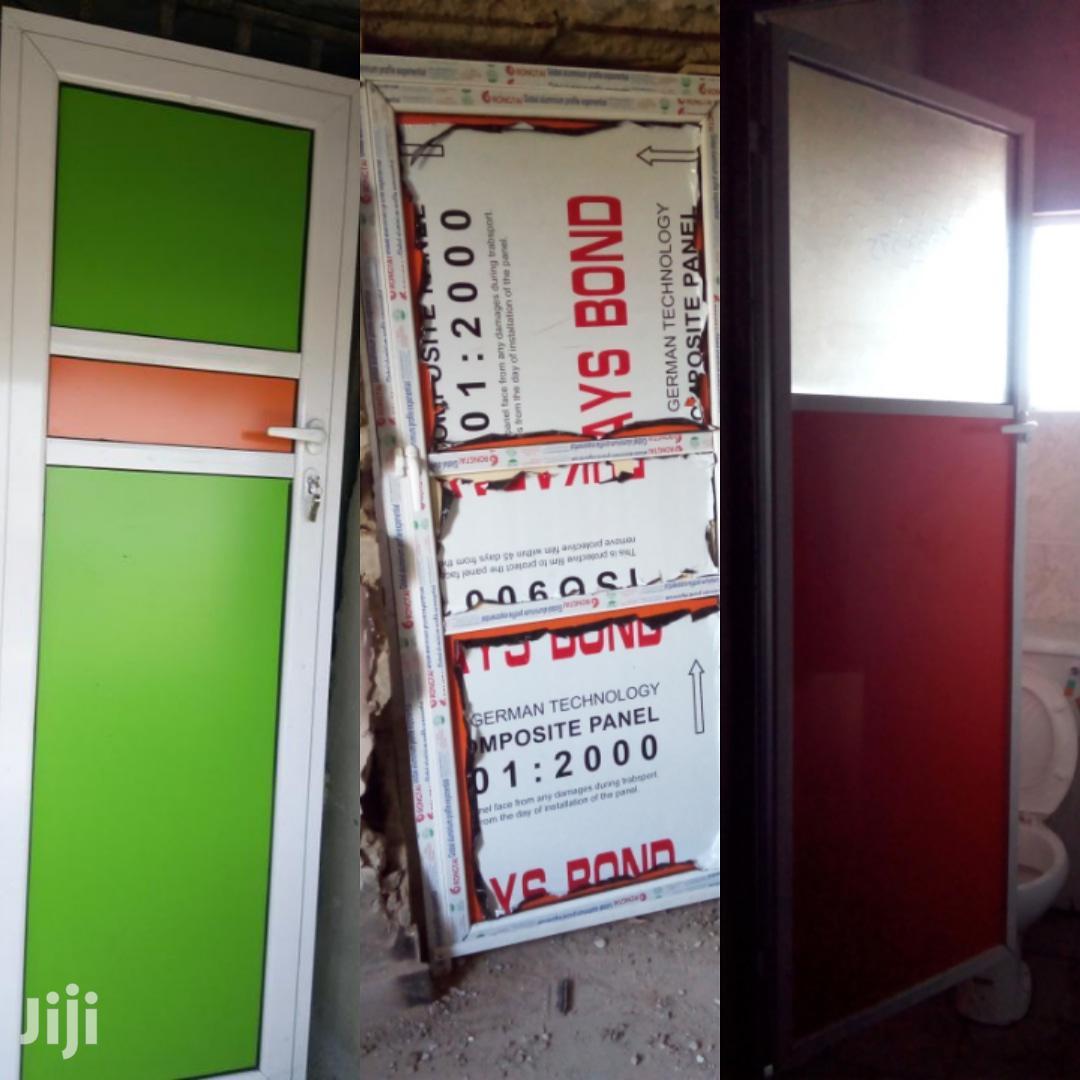 Archive: Toilet Kitchen Entrance Aluminum Doors