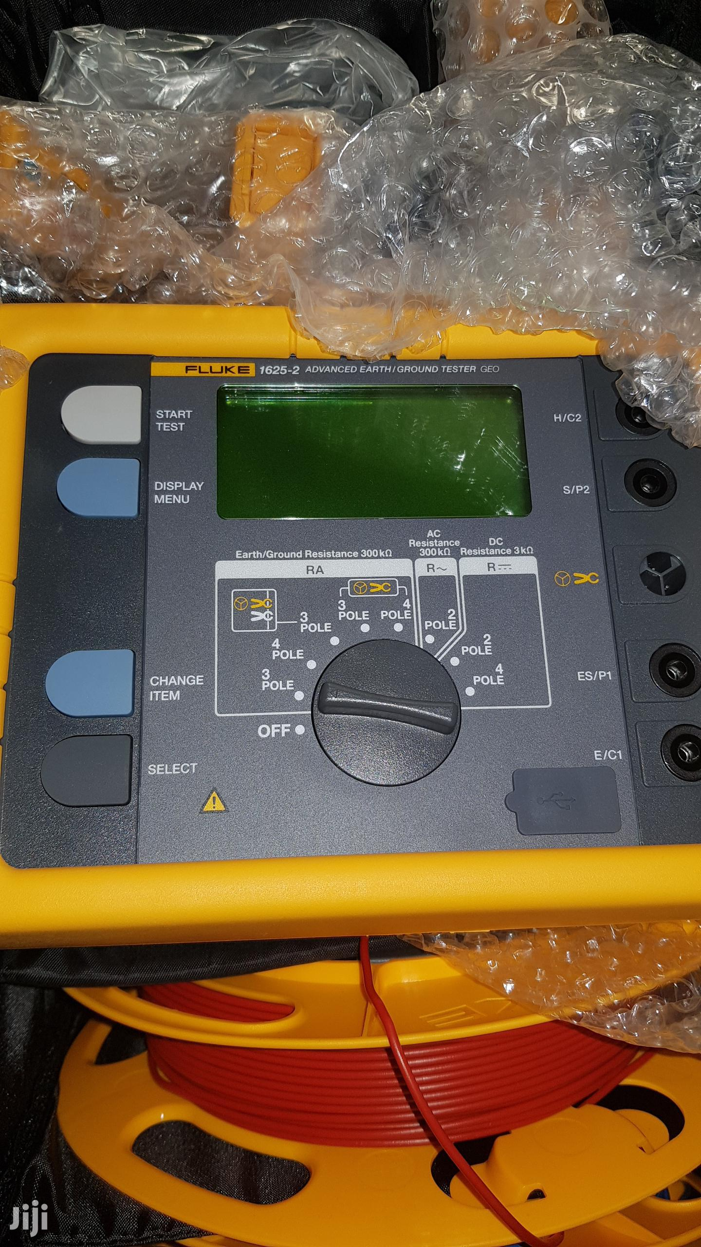 Fluke 1625kit Geo Earth Ground Tester | Measuring & Layout Tools for sale in Ojo, Lagos State, Nigeria