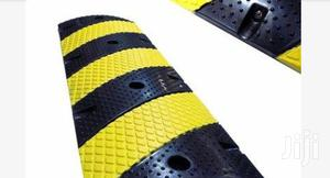 Rubber Traffic Speed Bump Hump With End Caps BY HIPHEN SOLUTIONS | Safetywear & Equipment for sale in Rivers State, Port-Harcourt