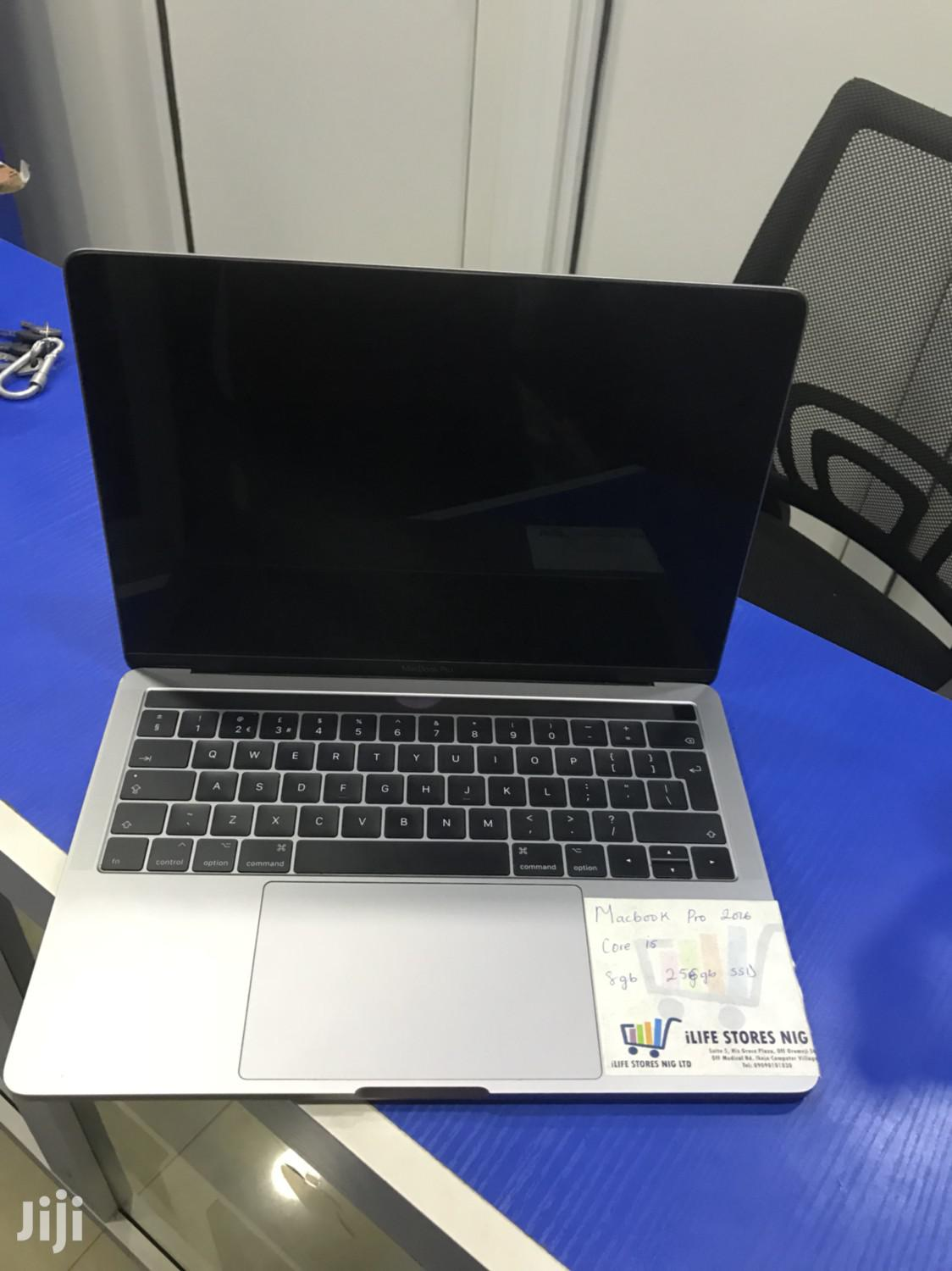 Laptop Apple MacBook Pro 2016 8GB Intel Core i5 SSD 256GB | Laptops & Computers for sale in Ikeja, Lagos State, Nigeria
