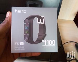 Havit Fitness Tracker IP67 Smart Bracelet H1100 - Black | Smart Watches & Trackers for sale in Lagos State, Ikeja
