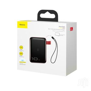 Baseus 2in1 10w Wireless Fast Charging 10,000mah 18w Wired Power Bank | Accessories for Mobile Phones & Tablets for sale in Lagos State, Ikeja