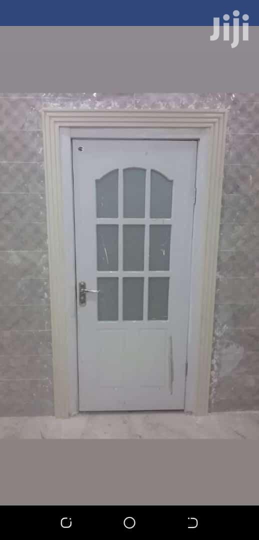 Solid Wooden Door White