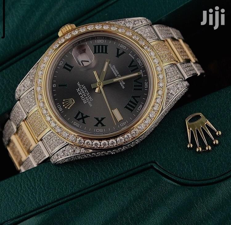 Rolex Ice Wristwatch Available as Seen Order Now