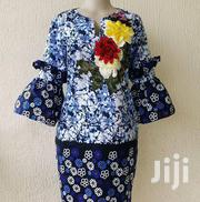 Straight Ankara Dress.   Clothing for sale in Lagos State, Gbagada