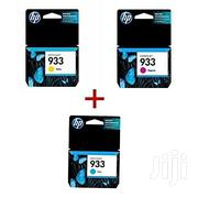 HP 933 Genuine Ink Yellow, Cyan and Magenta   Accessories & Supplies for Electronics for sale in Lagos State, Ikeja
