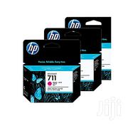HP 711 Ink Genuine Cartridge- Magenta/Cyan   Accessories & Supplies for Electronics for sale in Lagos State, Ikeja