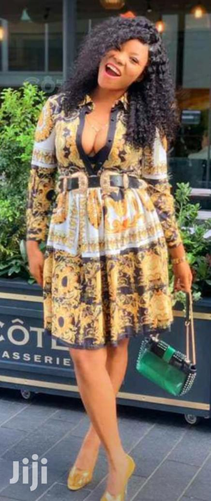 New Cute Mini Longsleeve Dress | Clothing for sale in Ikeja, Lagos State, Nigeria