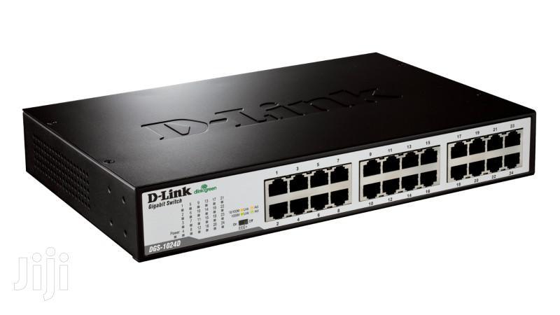 D-link 24-port Gigabit Unmanaged Desktop Switch DGS-1024D