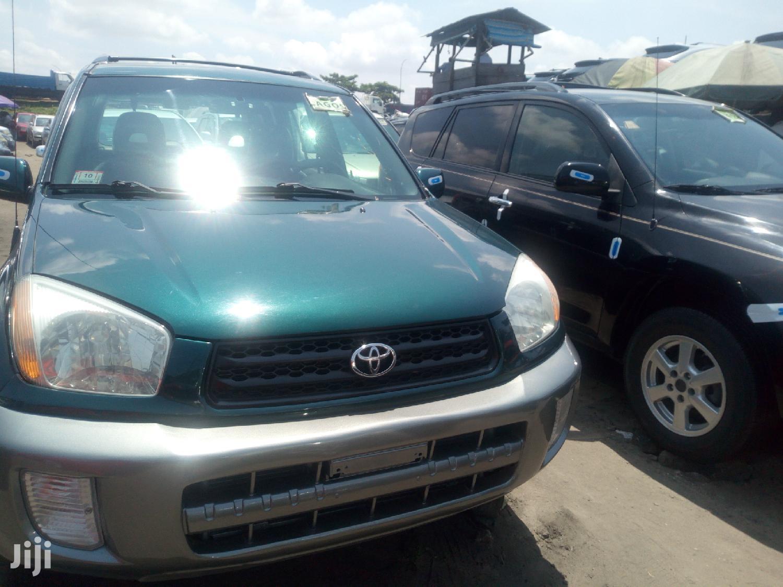 Toyota RAV4 2003 Automatic Green | Cars for sale in Amuwo-Odofin, Lagos State, Nigeria