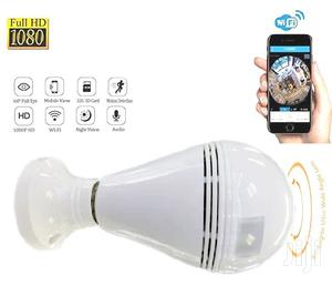 360 DEGREE WIRELESS IP Camera Home Security Bulb Light Fisheye   Security & Surveillance for sale in Lagos State, Ikeja