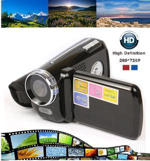 Cyber-cam Digital Video Camera Mini Series 4x Digital Zoom Camera | Photo & Video Cameras for sale in Lagos State, Ikeja